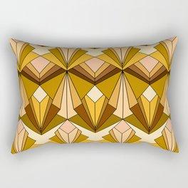 Art Deco meets the 70s Rectangular Pillow