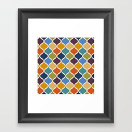 Moroccan Fall 1 Framed Art Print