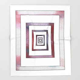 Infinite Rectangle Throw Blanket