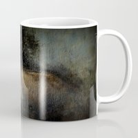 imagerybydianna Mugs featuring among her declining days by Imagery by dianna