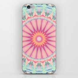 Mandala pastel no. 5 iPhone Skin