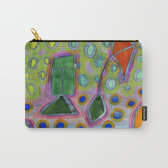 Colorful Kites Carry-All Pouch