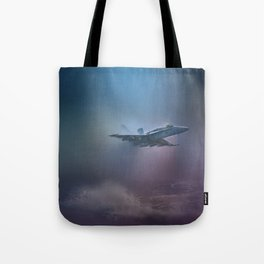 Wave Hopping Tote Bag