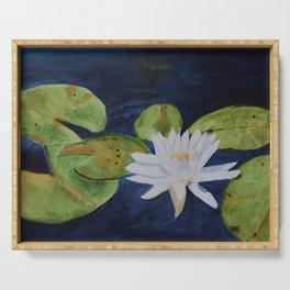 Muskoka Lilypad Flower Serving Tray