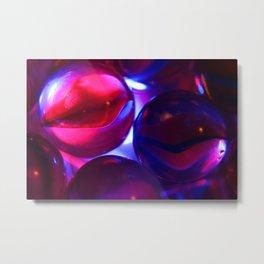 More marbles  Metal Print