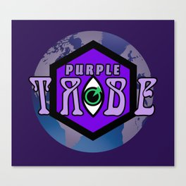 Purple Tribe1 Canvas Print