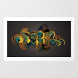Arcs13 Art Print