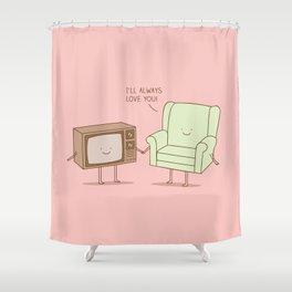 soul mates Shower Curtain