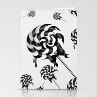 goth Stationery Cards featuring Goth Lollies by All Is One