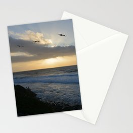 Pacific Coast Sunset Stationery Cards