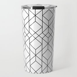 Art Deco Geometry 5 Travel Mug