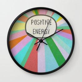 Positive energy Wall Clock