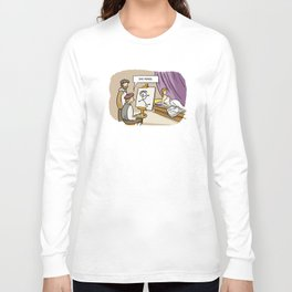 She Moved Long Sleeve T-shirt