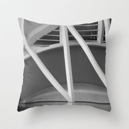 City of Arts and Sciences III by CALATRAVA architect Throw Pillow