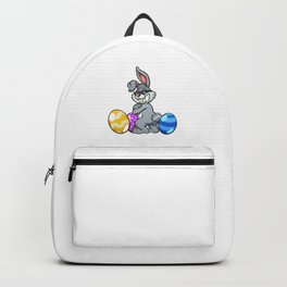 Cool Easter Bunny Backpack