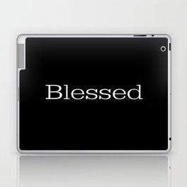 BLESSED Black & White Laptop & iPad Skin
