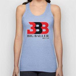 Big Baller Brand in red black Unisex Tank Top