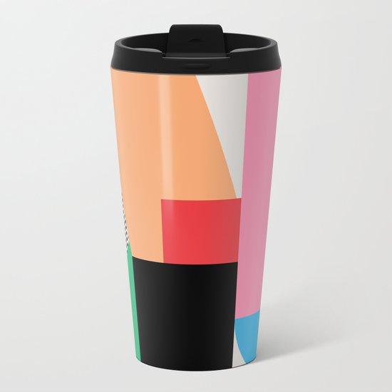 shape of you Metal Travel Mug