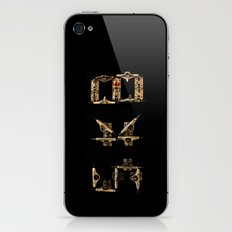 Sk8 typography iPhone & iPod Skin
