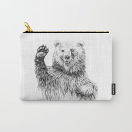 Waving Bear Carry-All Pouch