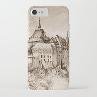 castle iPhone & iPod Cases featuring Castle by Bunny Noir