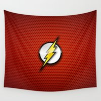 flash Wall Tapestries featuring FLASH by neutrone
