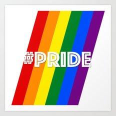 #Pride Art Print