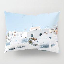 Lost in Santorini Greece Pillow Sham