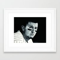 caleb troy Framed Art Prints featuring Troy Tulowitzki  by emilypaints