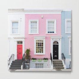 Pastel house Metal Print