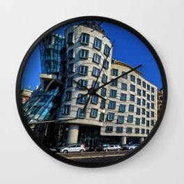 Dancing House | Frank Gehry | architect Wall Clock