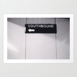 Toronto - Southbound Art Print