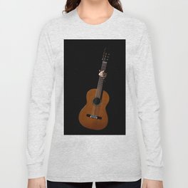 Flamenco Guitar Long Sleeve T-shirt