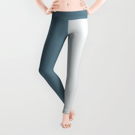 Parable to Behr Blueprint Color of the Year and Accent Colors Vertical Stripes 14 Leggings