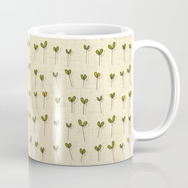 sprouts cream Coffee Mug