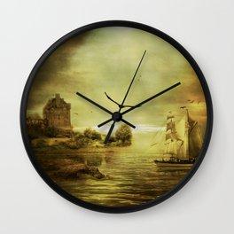 Coastal Glory Wall Clock