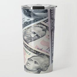 US Dollar Travel Mug