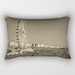 Ferris Wheel at Brighton, UK Rectangular Pillow