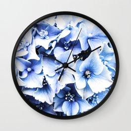 Holy Hydrangea IV Wall Clock