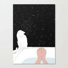 stars bath  Canvas Print