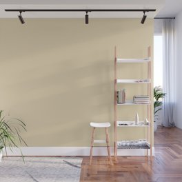 Dunn & Edwards 2019 Curated Colors Cream Fraiche (Ivory) DET654 Solid Color Wall Mural