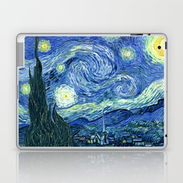 Vincent van Gogh Starry Night 1889 Laptop & iPad Skin