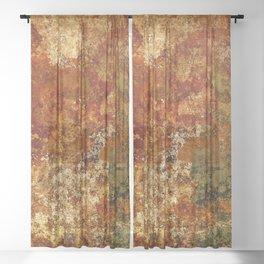 Ephemeral (corrosion) Sheer Curtain