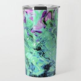 430 - Abstract glass design Travel Mug
