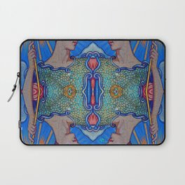 Minerva Goddess Of Wisdom Surreal Pop Art 1 Laptop Sleeve