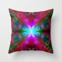 Bubbles Bokeh Effect G122 Throw Pillow