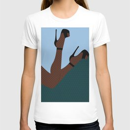 Arch + Point // Femme, Feminine, Valentine, Lingerie, Pin Up, Melanin T-shirt