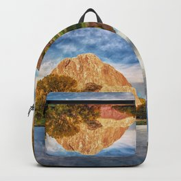 Colorful Colorado Red Rocks Reflection  Backpack