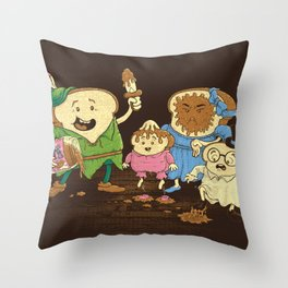 Yep, just a little bit of fairy peanut butter Throw Pillow