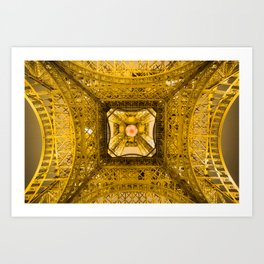 New View Under Old Charm Art Print